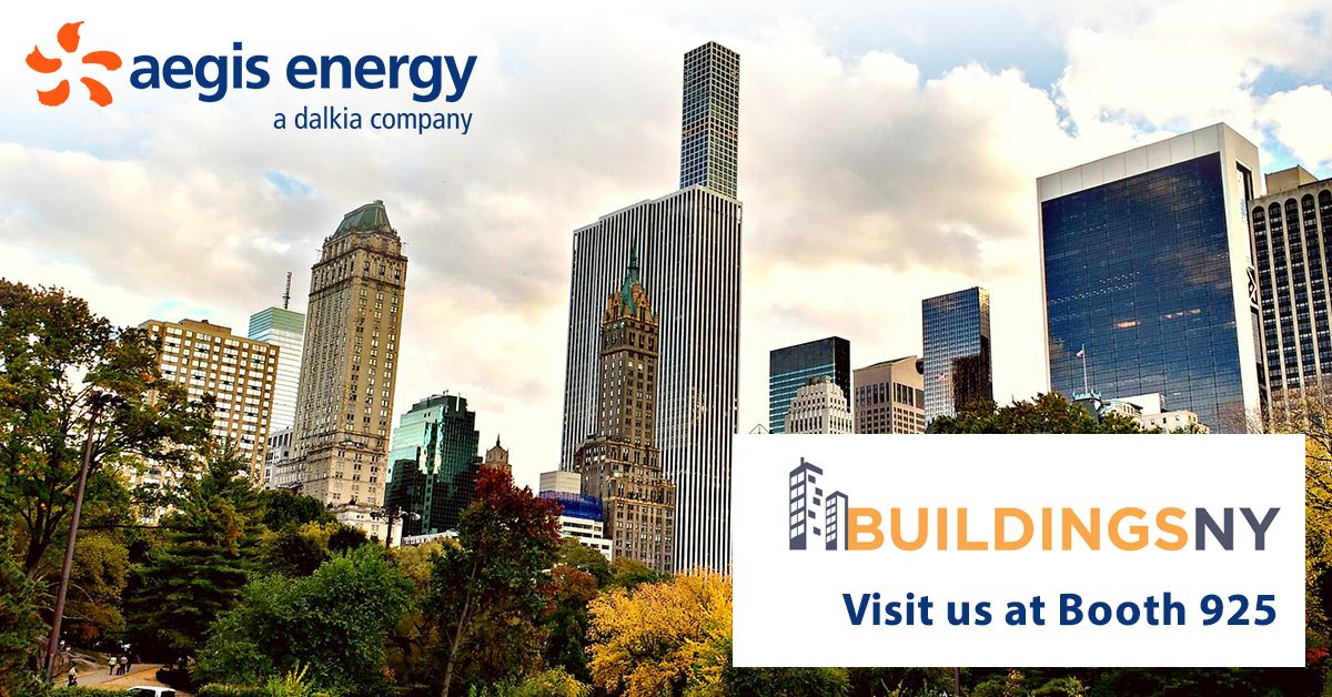 Green potential abounds with Aegis Energy at BuildingsNY