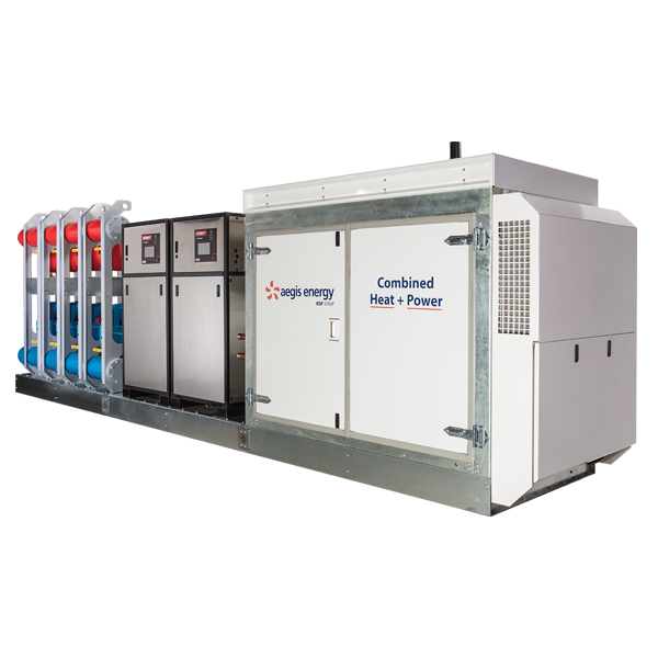 An Integrated Solution For Your Facilities Heat + Electrical Power